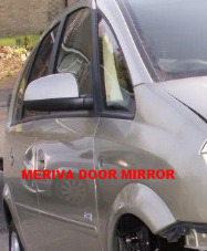 VAUXHALL MERIVA  DOOR MIRROR  ELECTRIC  SILVER / GREY    2004 - 2006  USED